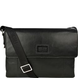 Stephenson 03 Messenger bag,  black, soho