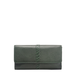 Sebbie W1 (Rfid) Women's Wallet, Regular,  emerald green