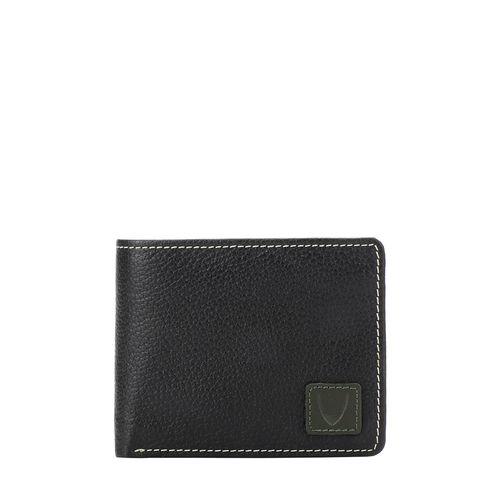 36-01 SB (RFID) MEN S WALLET REGULAR PRINTED,  black