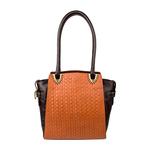 Ee Liya 01 Women s Handbag, Woven,  tan