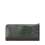 SPRUCE W3 SB (RFID) WOMENS WALLET CROCO,  emerald green