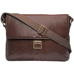 Vespucci 03 Men s Messanger Bag, Khyber,  brown