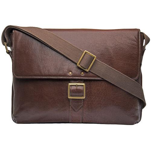 Vespucci 03 Men s Messanger Bag, Khyber,  brown