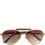 Jamaica gold Men s sunglasses,  gold