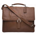 Spector 1337 Briefcase,  tan, regular