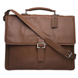 Spector 1337 Briefcase, regular,  tan