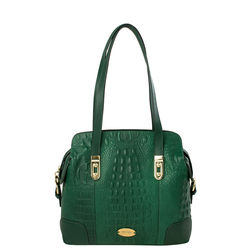Harajuku 03 Women's Handbag Baby Croco,  green