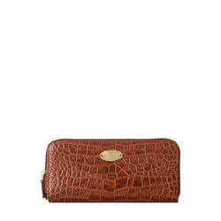Mackenzie W3 (Rfid) Sb Women's Wallet, Croco,  tan