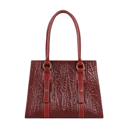 HIDESIGN X KALKI SAMURAI 02 WOMEN'S SHOULDER BAG ELEPHANT,  marsala