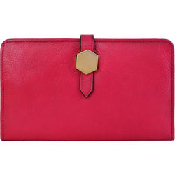 Travel Wallet (Rfid) Women's Wallet, Ranch,  fuschia