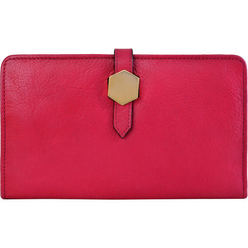 Travel Wallet (Rfid) Women s Wallet, Ranch,  fuschia