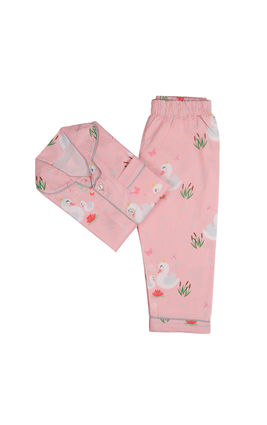 Swan Princess PJ Set, 6m-12m