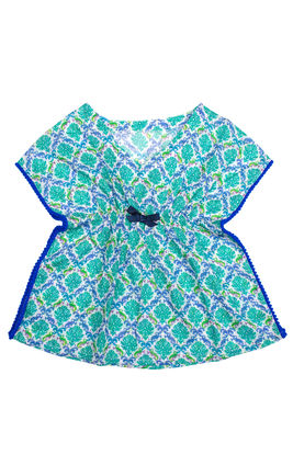 Scroll Print Tunic, 2yr-3yr