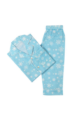 Snowflakes PJ Set, 6m-12m