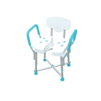 Shower Chair - Ibiza Premium(Armrest and backrest) - M402