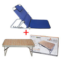 Combo Deal ( Mobilita Adjustable backrest+ Single fold table)