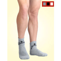 Anti-skid socks from Flamingo, white