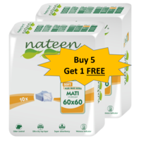Nateen underpad - 5+ 1 Combo Offer