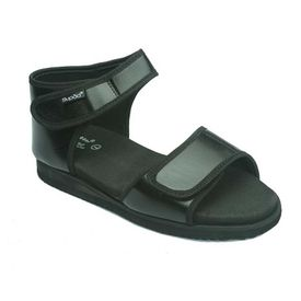 Diabetic footwear - For Women - Flora Black, 8