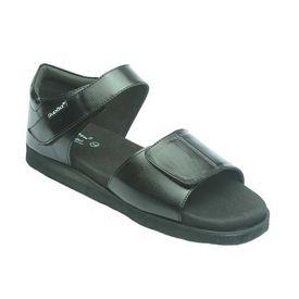 Diabetic footwear - Mens - Protector - Black, 10
