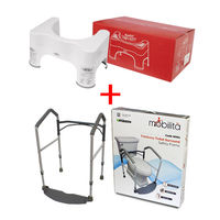 Combo Deal ( Toilet Safety Frame+ Comfy Potty)