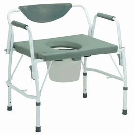 Heavy duty commode chair (M302)