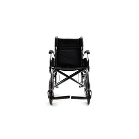 Premium wheelchair with compact rear wheels(M601),  metallic champagne