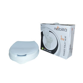 Raised Toilet Seat with lid, 4