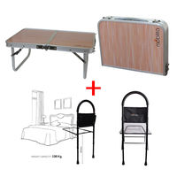 Combo Deal ( Double fold table+ Mobilita Bedside rail)