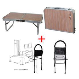 Combo Deal ( Double fold table+ Mobilita Bedside rail)