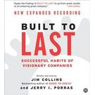 Built to Last CD[ Abridged, Audiobook] [ Audio CD] Jim Collins (Author, Reader) , Jerry I. Porras (Reader)