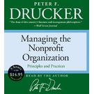 Managing the Non-Profit Organization Low Price CD[ Abridged, Audiobook] [ Audio CD] Peter F. Drucker (Author, Reader)