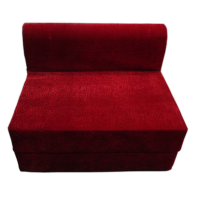 Luk Luck Multipurpose Sofa Cum Bed Cherry