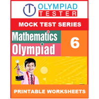 Class 6 Maths Olympiad - 20 Mock tests - Printable Worksheets