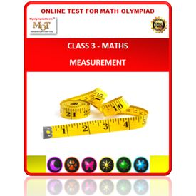 Class 3, Measurement, Online test for Maths Olympiad