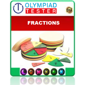 Class 3 Maths - Fractions - Printable PDF Worksheets (12 Nos)