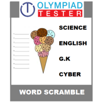 Class 3 Daily Word Scramble - 200 Printable puzzles