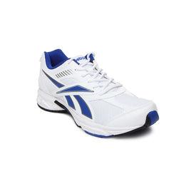 reebok active sport2 lp, white royal silver, 6