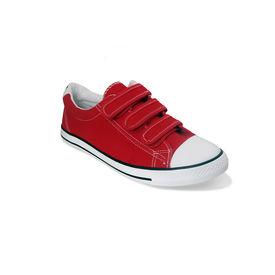 Romanfox-Red-Velcro-sneaker-shoes-One Year Exchange Warranty, red, 8