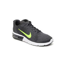 Nike Air Max Sequent 2(852461-012) sport shoes, dark grey volt anthnic, 11
