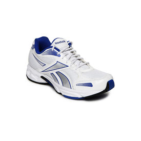 Reebok united runner4 lp, white black blue, 10