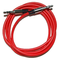 Callmate 3.5mm Auxilary cable,  red