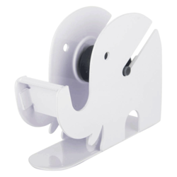 Infomate Single Hand Held Tape Dispenser (Manual) (Set of 1, White)