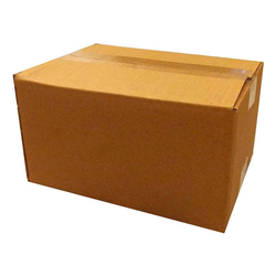 MAYUMI Corrugated Craft Paper Storage, Moving, Shipment Packaging Box (Pack of 2 Brown)