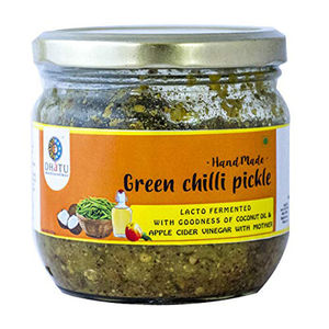 Green Chilli Pickle, 250 gms