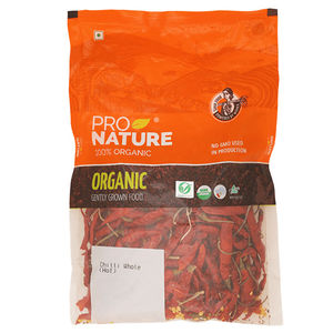 Red Chilli Ehole Rich Color, 100 gms