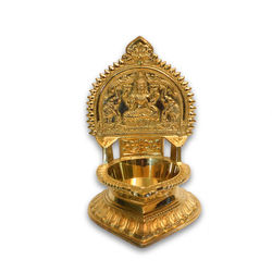 "Kamatchi Lamp (Height-10 1/2"" , Weight-3Kg, Diameter-4 1/2"" )"