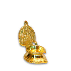 "Ashtalakshmi Lamp (Height-7 1/2"" , Weight-810 Grms, Diameter-3 1/2"" )"