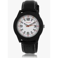 Sonata 7984Pp01 Black/White Analog Watch