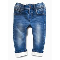 Next Jersey Denim Jeans,  blue, 12-18 m